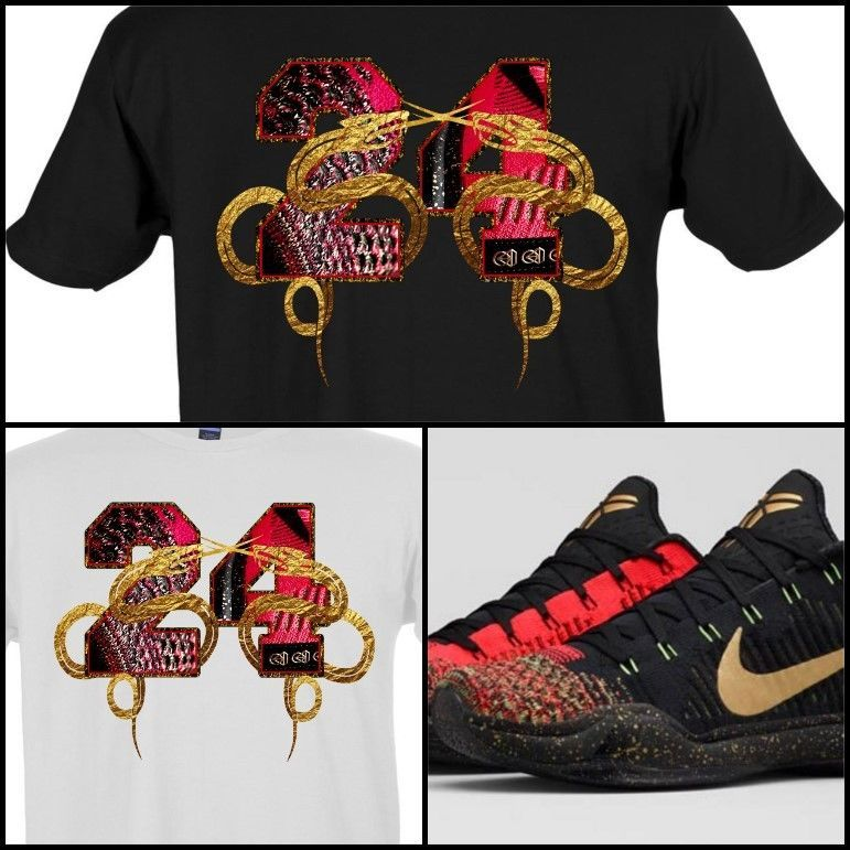 Exclusive tee shirt to match the nike kobe x 10 elite low ...