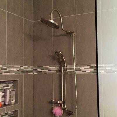 Diverter Complete Shower System   Pinterest   Rain shower system ...