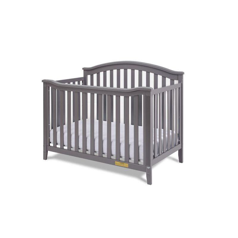 Brompton 4 In 1 Convertible Crib In 2020 Convertible Crib Cribs Affordable Cribs
