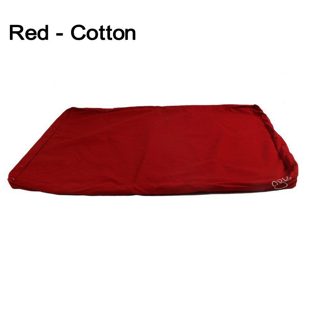 Zipper Dog Bed Cover For Pet Bed Mat Cushion Removable