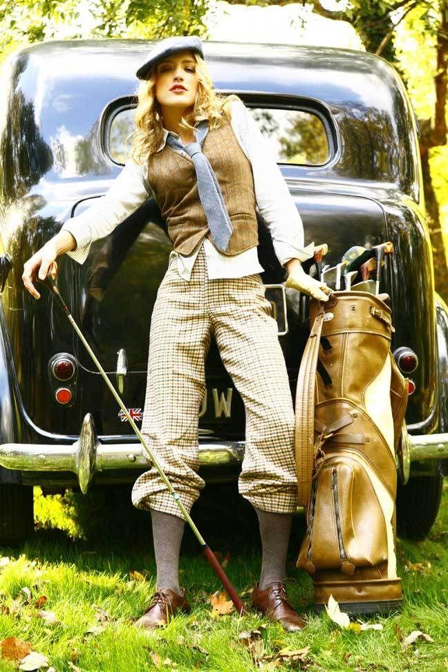 Retrostuff88 Female GolfersVintage GolfVintage DressGolf