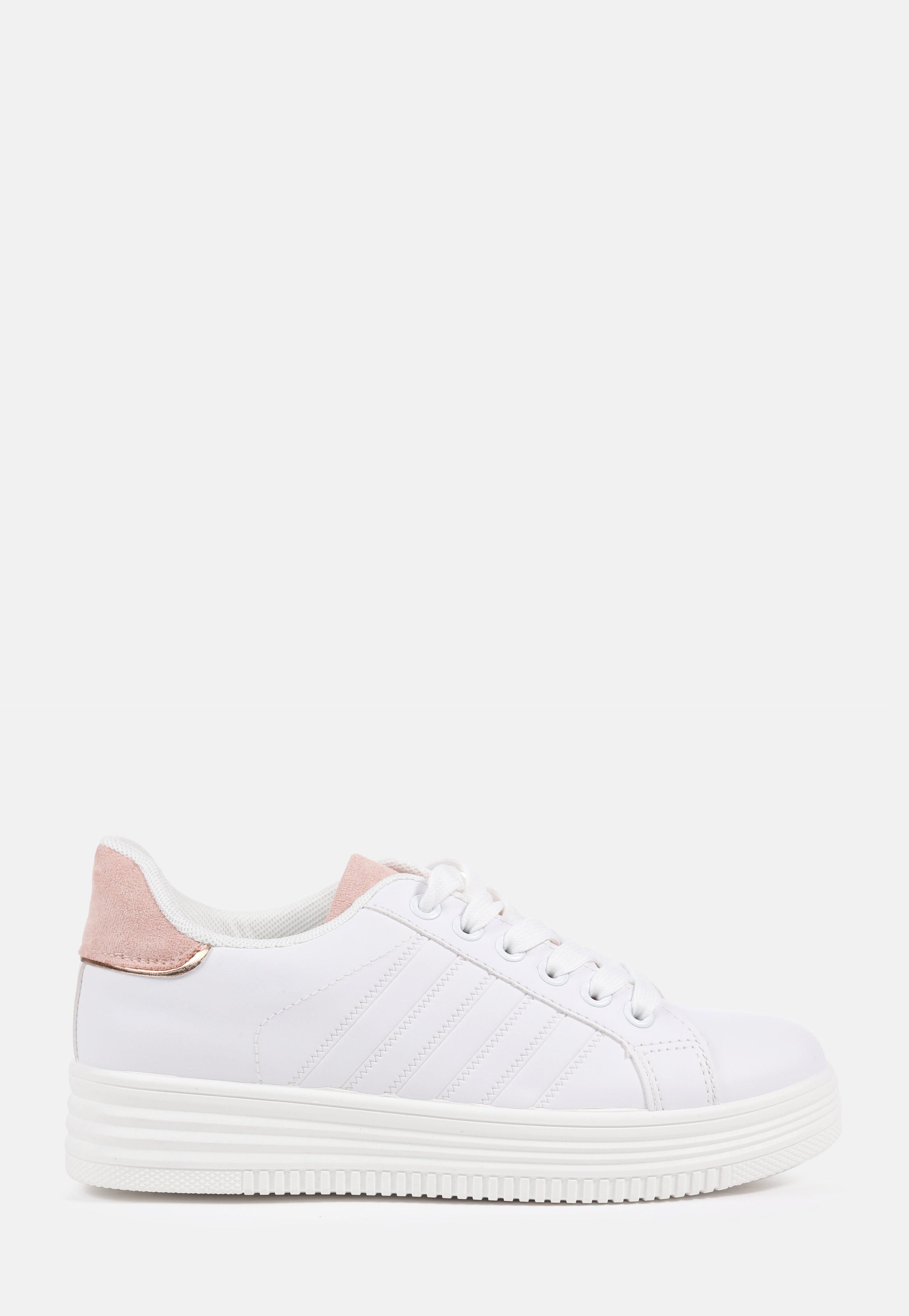 Missguided - Rose Faux Leather Lace Up