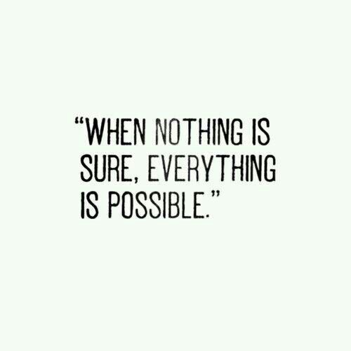 - Impossible is nothing -