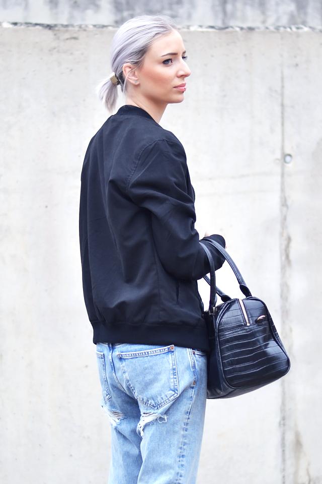 reebok classic leather denim inspired purse