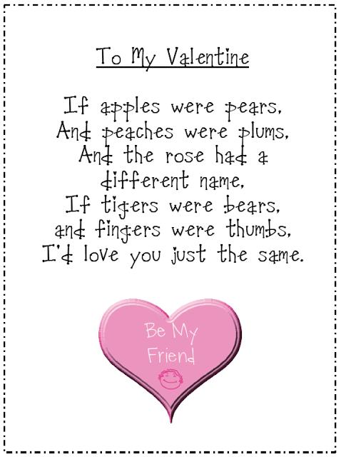 valentine freebie - Preschool Valentine Songs
