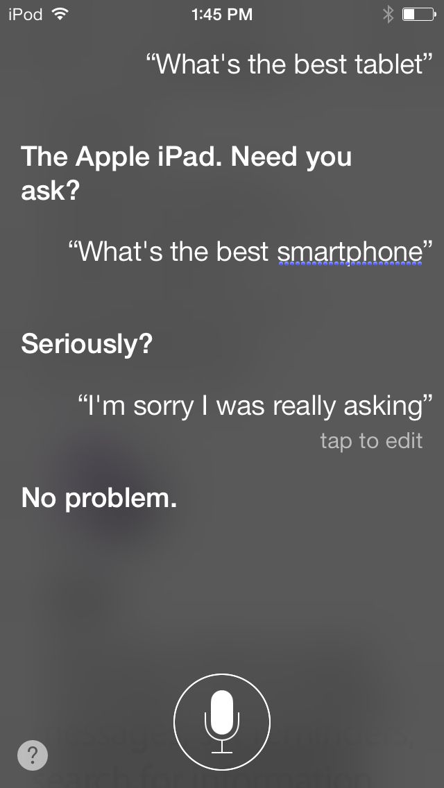 With all the fake Siri conversations, it's refreshing when ... |Funny Siri Conversations Hal