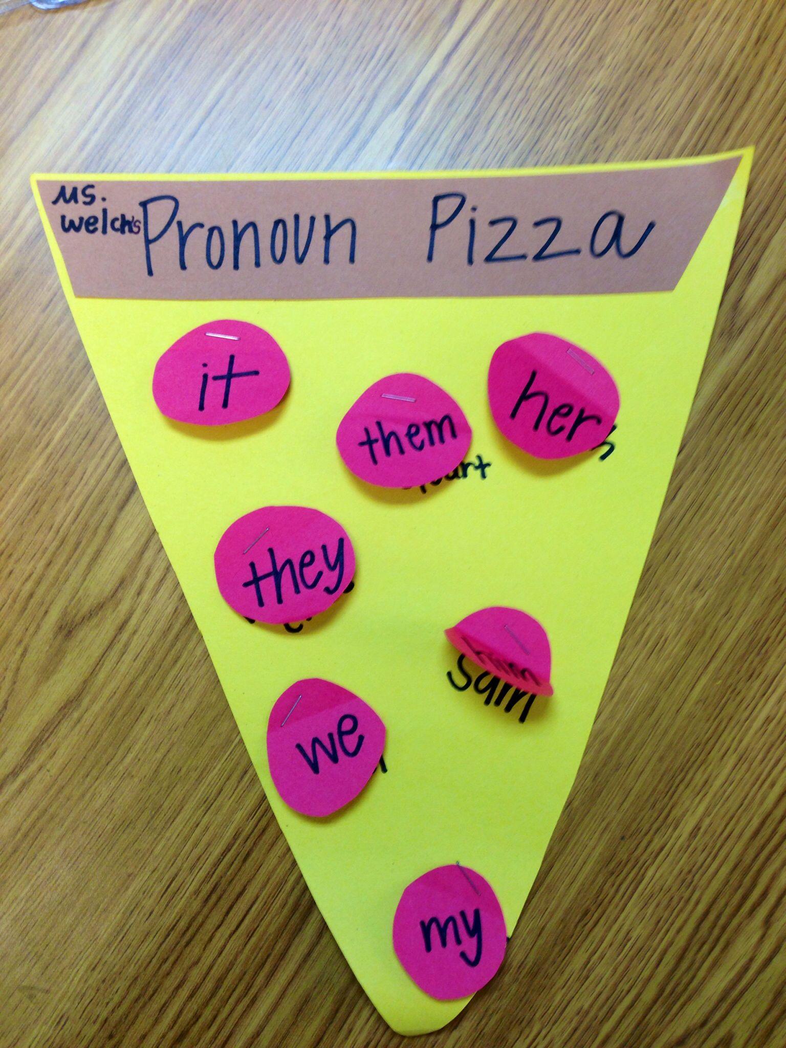 Pronoun Pizza Pronoun Activities Teaching Pronouns Pronoun Lesson Plan [ 2048 x 1536 Pixel ]