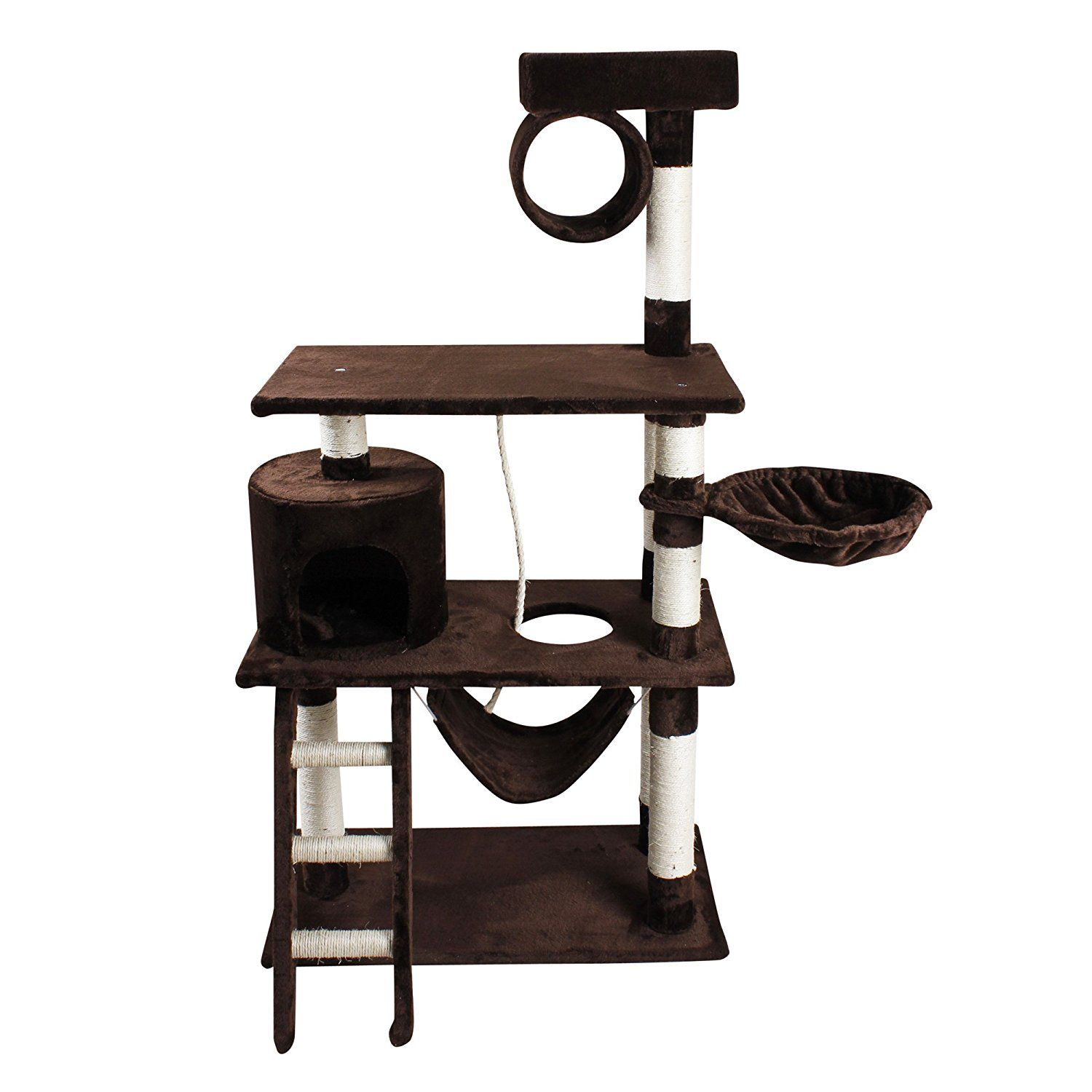 IPet 56u201c Cat Tree Condo Cat Furniture Scratching Post Pet House Cat  Exercise Tree * Check Out The Image By Visiting The Link. (This Is An  Affiliate Link And ...