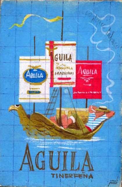 Águila – Manolo Prieto – Espana (1958)