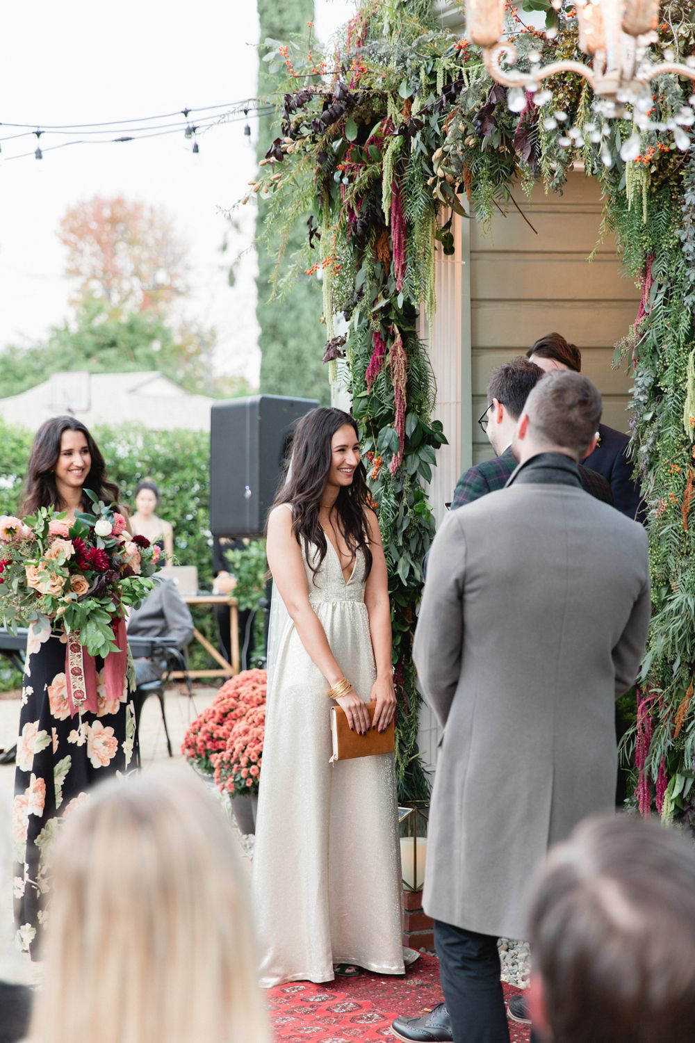 Stylish AtHome Wedding in LA Photographed by Max