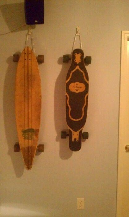 Bon Iu0027ve Been Looking For A Longboard/skate Board Storage Solution.