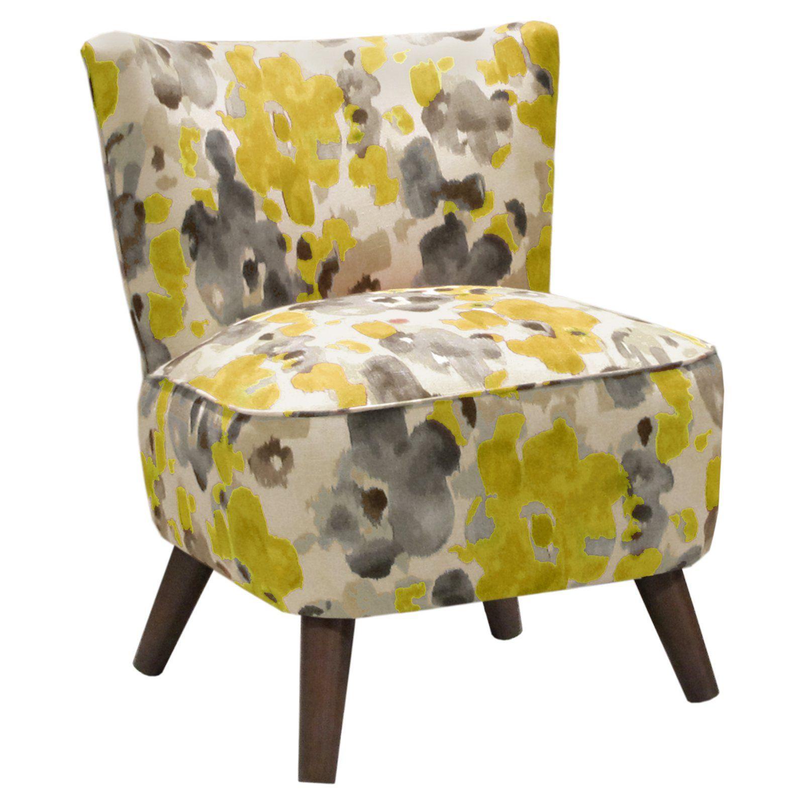 Landsmeer Citrine Modern Chair From Hayneedle Robert Allen Fabric Cal 117