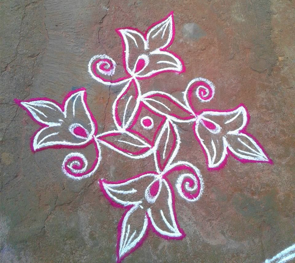 TELUGU WEB WORLD telugu mugg Rangoli designs with dots