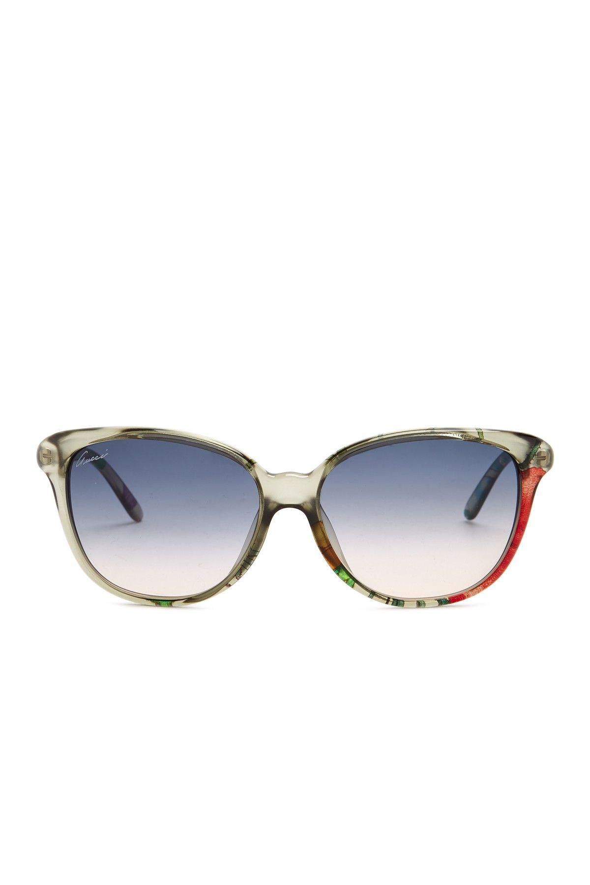 ed770d92f9 Women s Cat Eye 57mm Acetate Frame Sunglasses by GUCCI on  HauteLook ...
