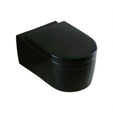 Miska Wc Wiszaca Form Czarna Z Deska