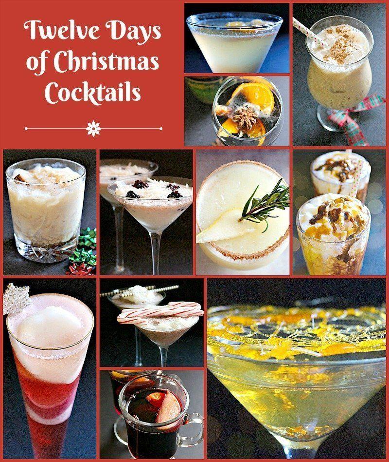 Twelve Days Of Christmas Cocktails