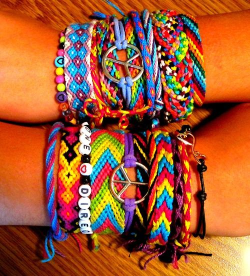 Self Harm Bracelets Friendship My Pretty Colors Thought They