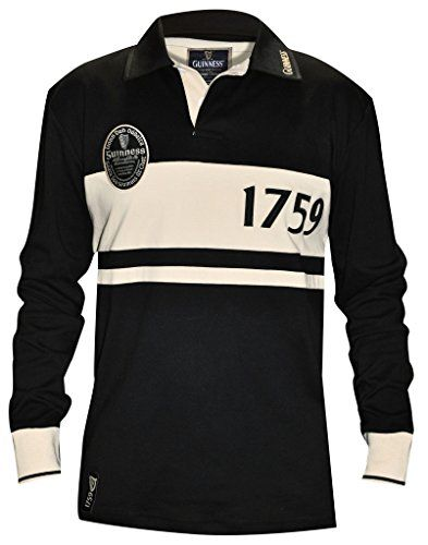 9382d602dba Guinness Classic Label Rugby Jersey -- Find out more about the great  product at the image link.Note:It is affiliate link to Amazon.