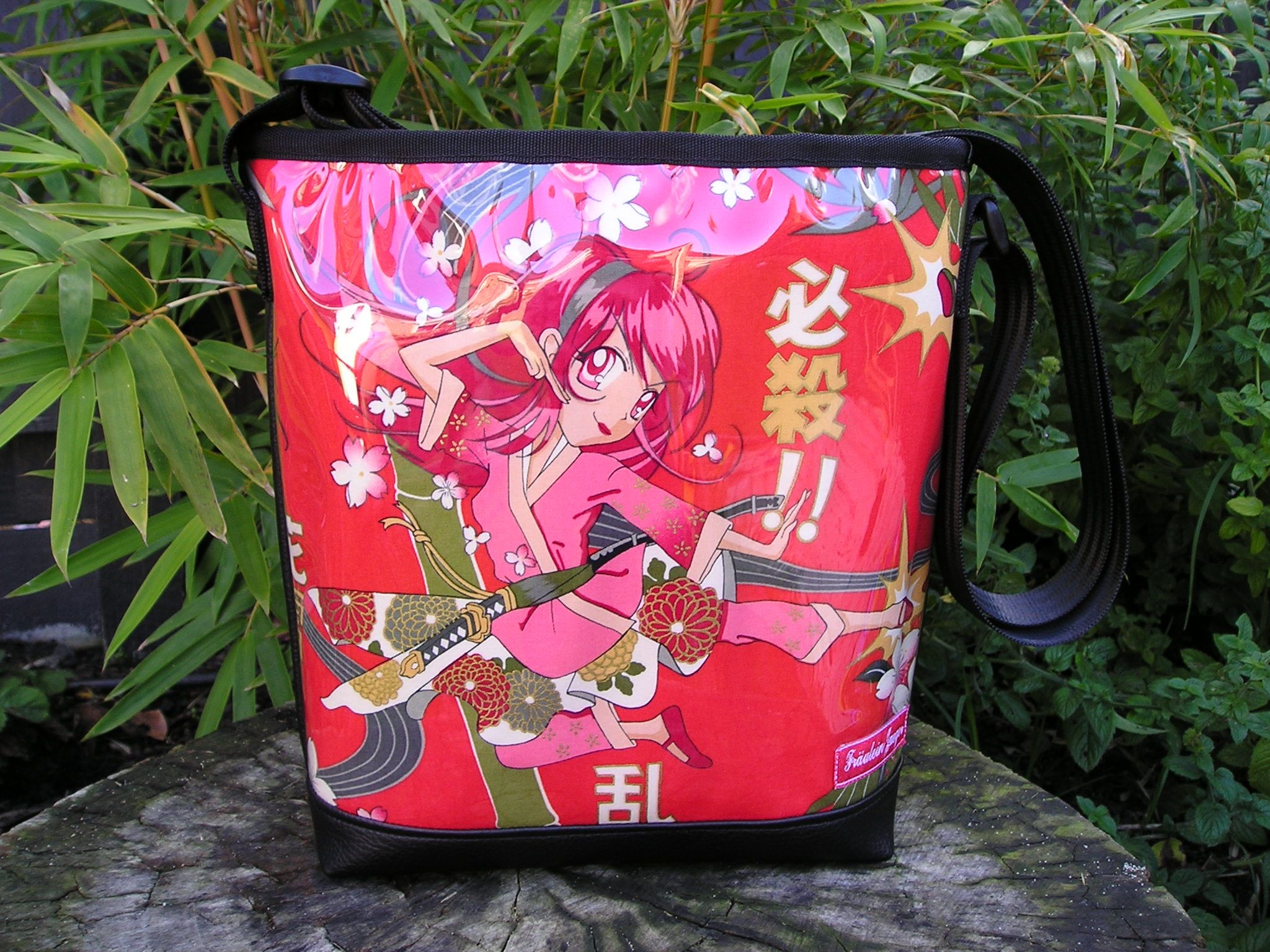 Anime karate girl tote email