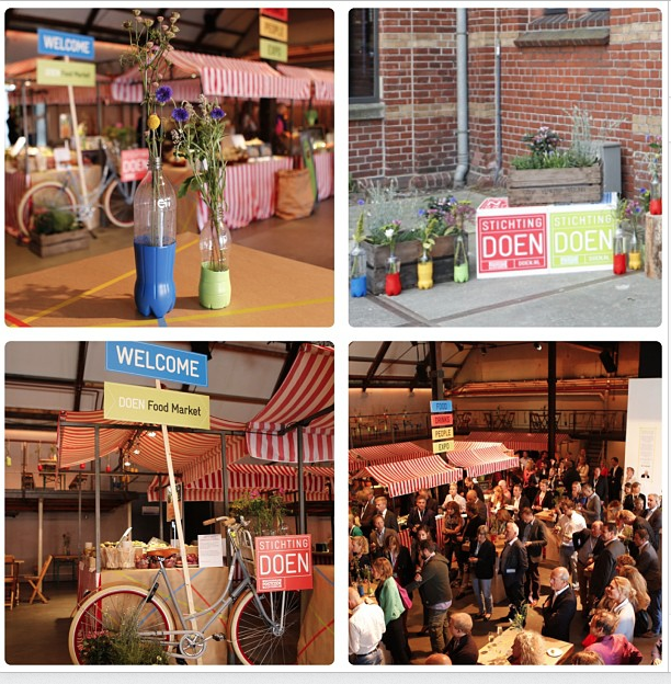 Concept, organisation and styling event for DOEN