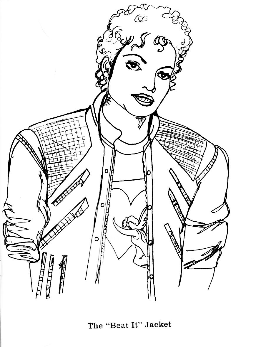 Michael Jackson Coloring Pages Page 15  Michael Jackson Coloring Book  Pinterest  Coloring