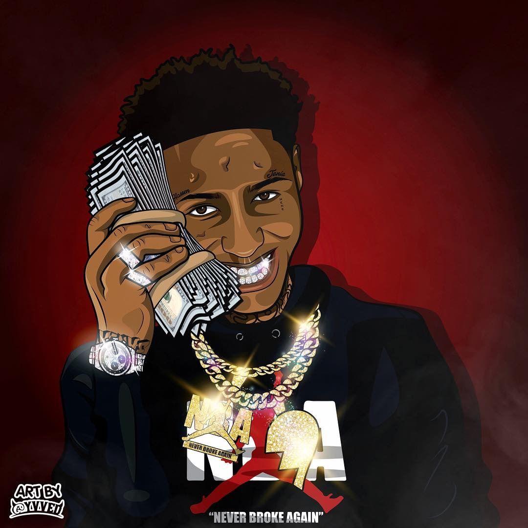 Pin by Ashanti 💗 on NBA Youngboy Dope cartoon art