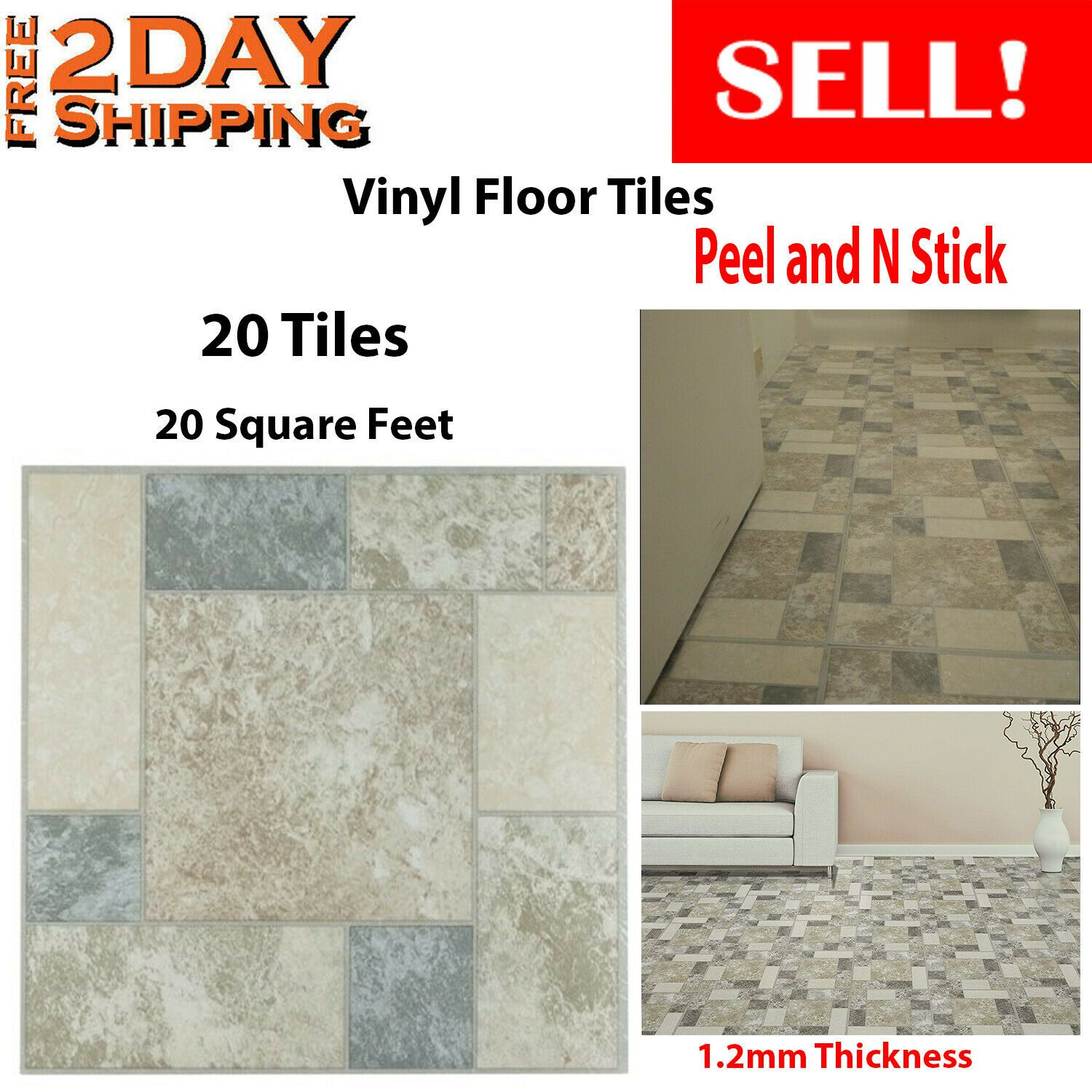 Diy Vinyl Floor Tiles 20 Peel And N Stick Mat Self Adhesive Vinyl Flooring Tile Vinyl Flooring Ideas O Vinyl Flooring Vinyl Flooring Installation Flooring