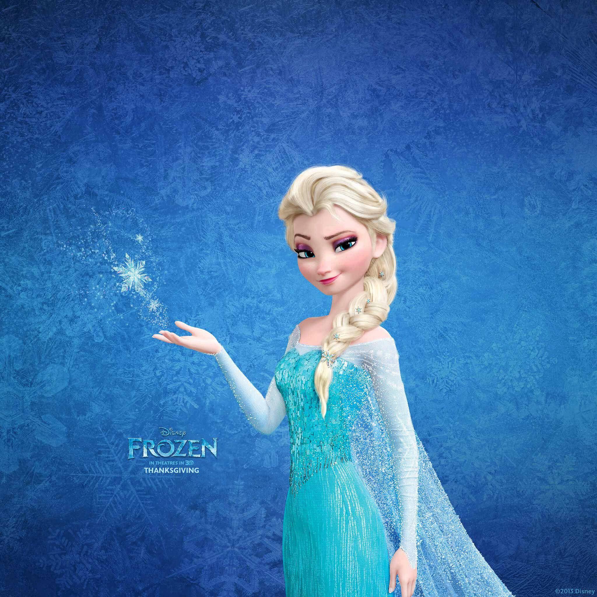Frozen's Elsa iOS 7 Wallpaper C & c, Handarbeit