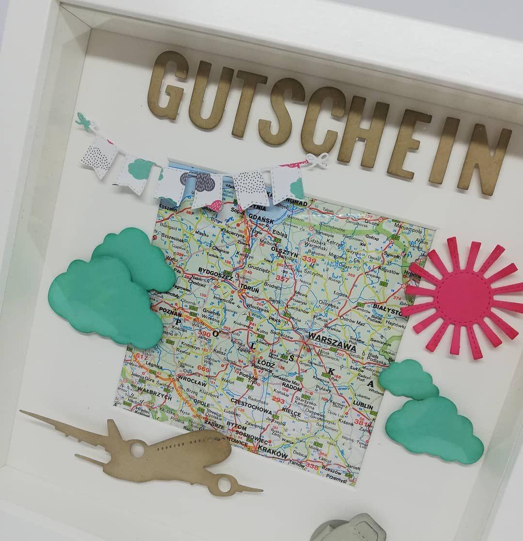 Reisegutschein Geburtstag Happybirthday Urodziny Gutschein