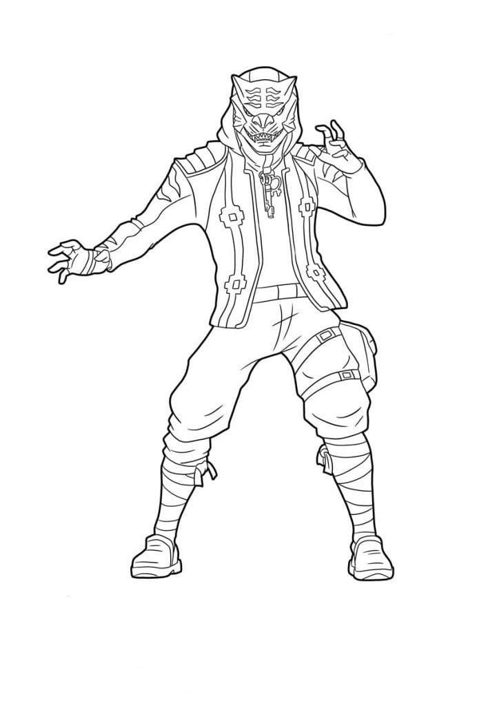 Fortnite Coloring Pages Recon Expert Images