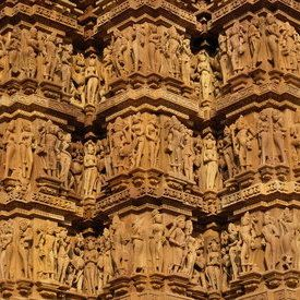 Khajuraho : The UNESCO World Heritage temples of Madhya Pradesh, famous for their erotic sculptures - indiamike.com