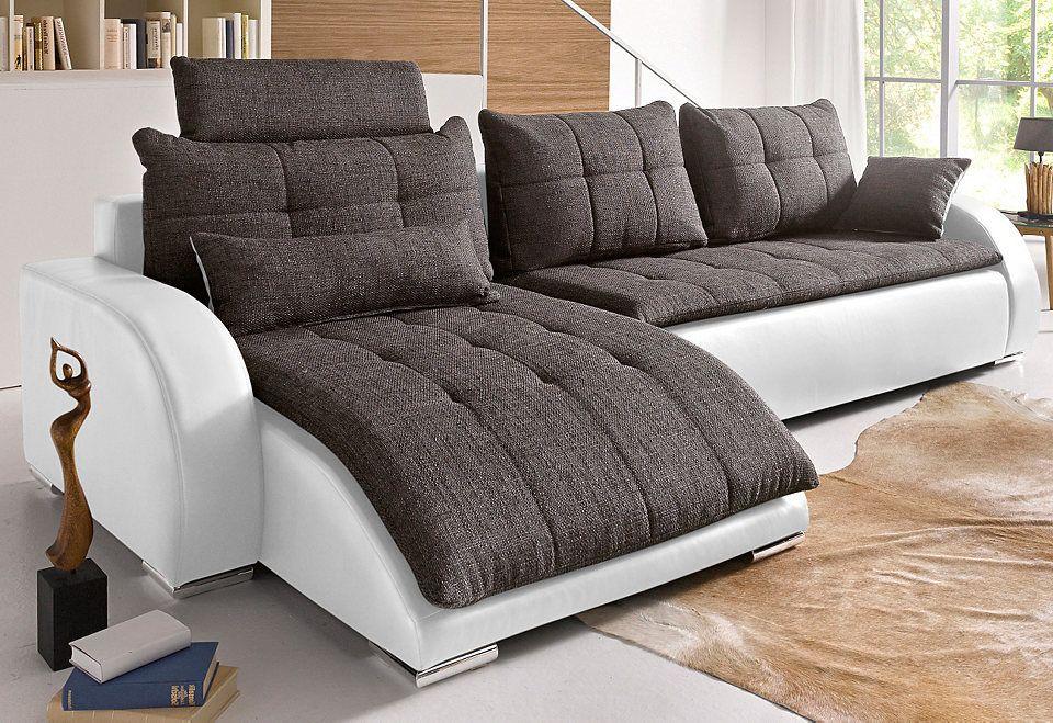 Collection AB Polsterecke mit Bettfunktion Jetzt bestellen unter - wohnzimmer sofa braun