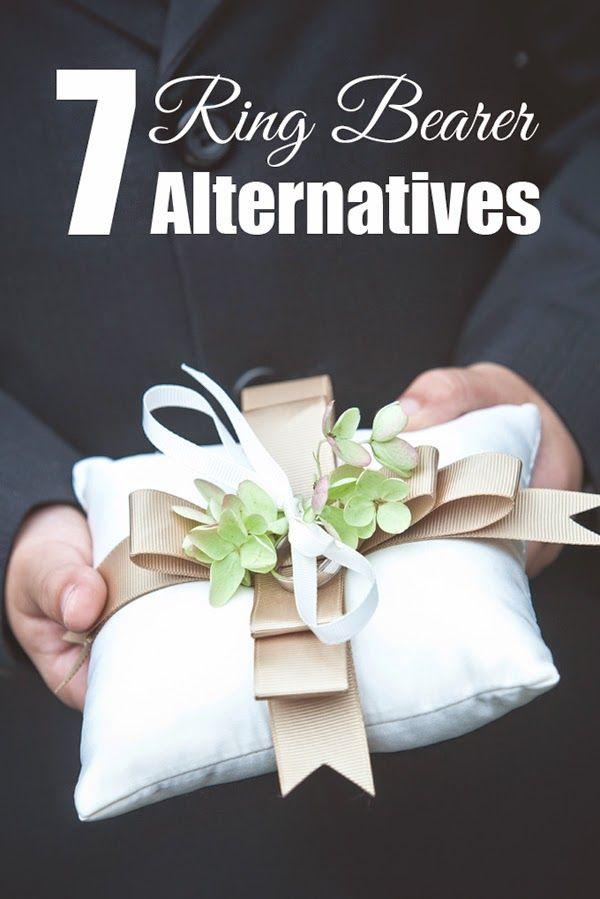 7 Wedding Ring Bearer Pillow Alternatives Wedding Wedding Ring