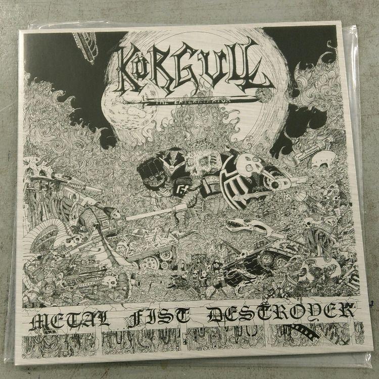 Korgull The Exterminator Metal Fist Destroyer Black Vinyl In 2020 Vinyl Music Black Vinyl Vinyl