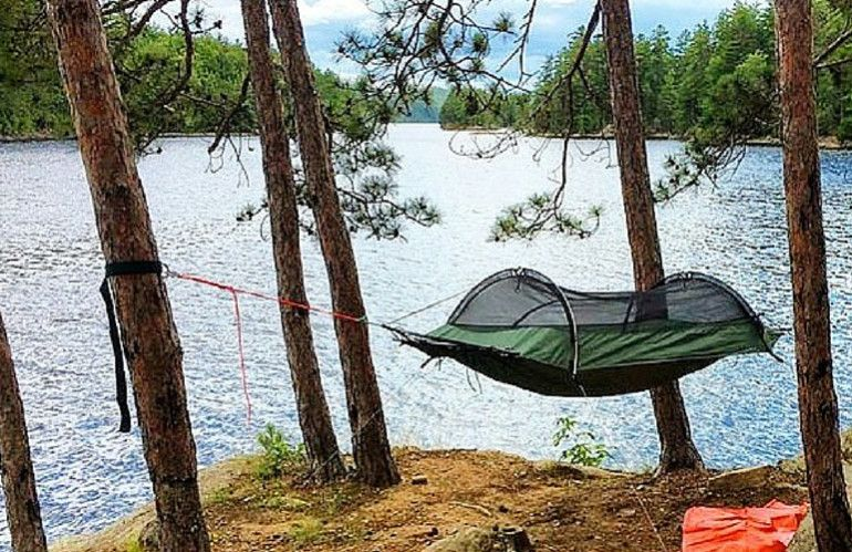 Lawson Blue Ridge Camping Hammock Tent Review Hammock