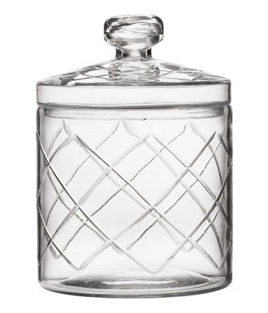 Glass jar by H&M Home