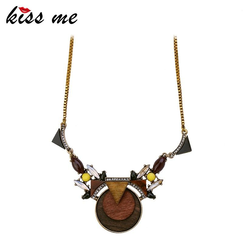 Wholesale women the latest box chain wood pendant necklace alibaba wholesale women the latest box chain wood pendant necklace aloadofball Choice Image