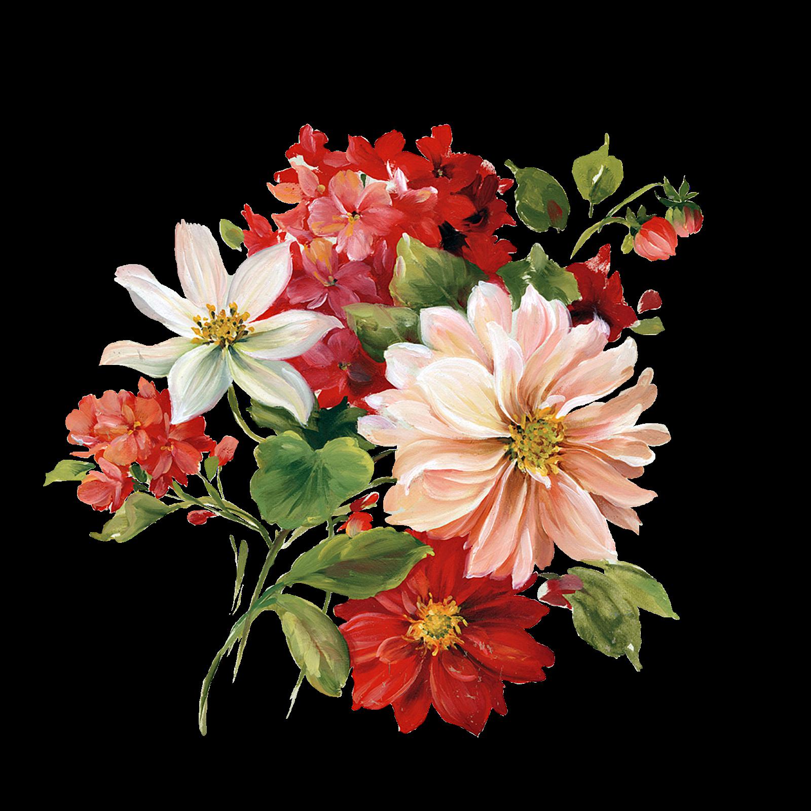 Çiçekler PNG Clipart_Lisa Audit_(69 Adet) Dekupaj