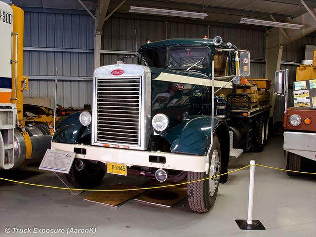 1956 Peterbilt 351   Peterbilt 351   Peterbilt, Semi trucks