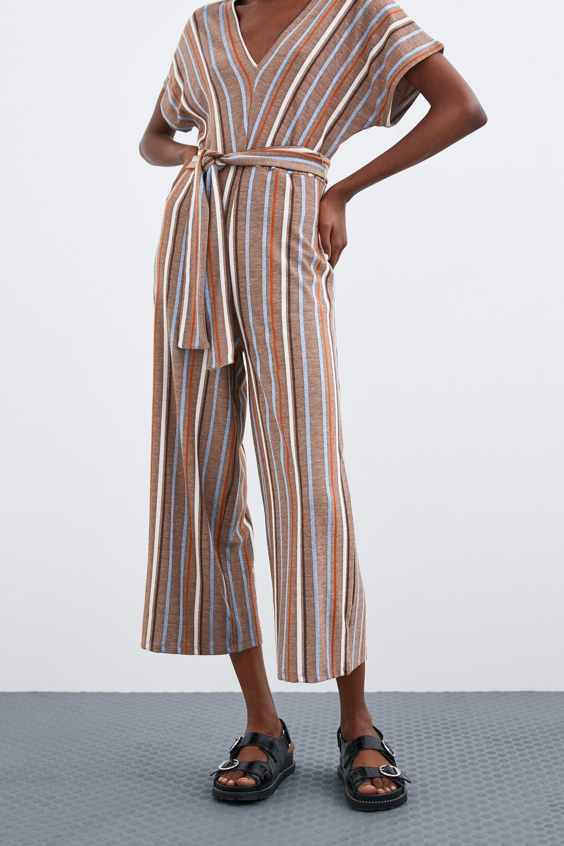 73d8d67640 Striped rustic jumpsuit in 2019 | things i want to buy | Jumpsuit ...