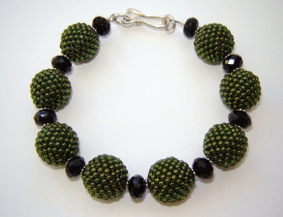 A Beaded Bead Bracelet by ~Opaldust on deviantART