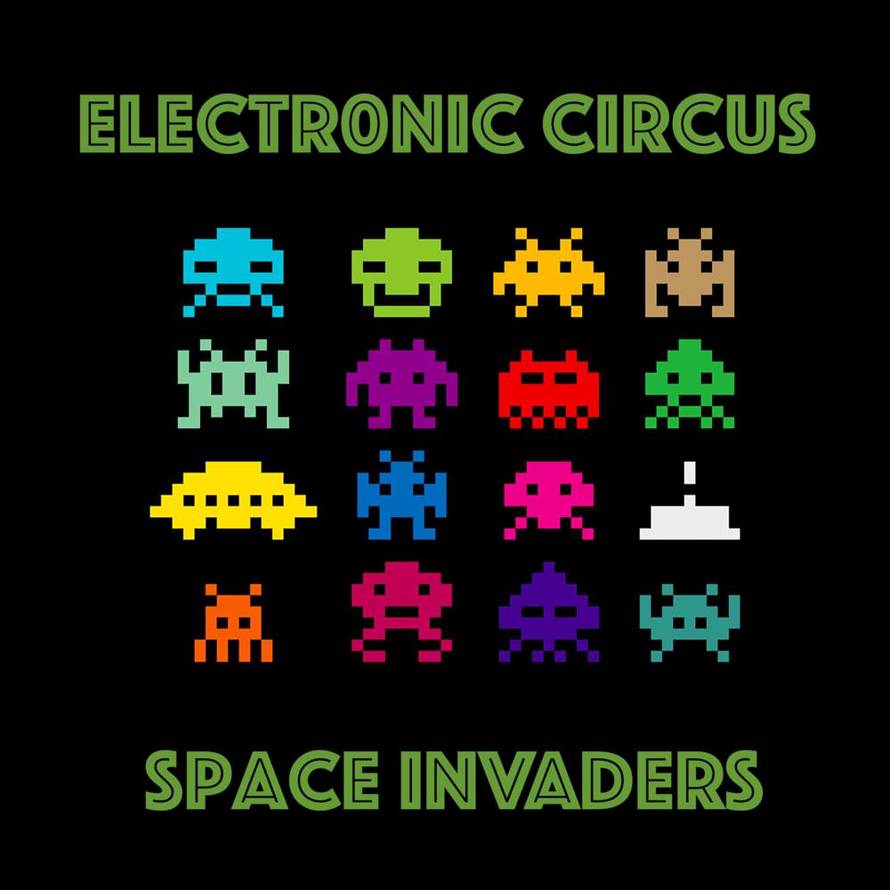 Made This Rare Sighting Today Https Ift Tt 2sbirsl Space Invaders Pixel Art Games Retro Gaming Art