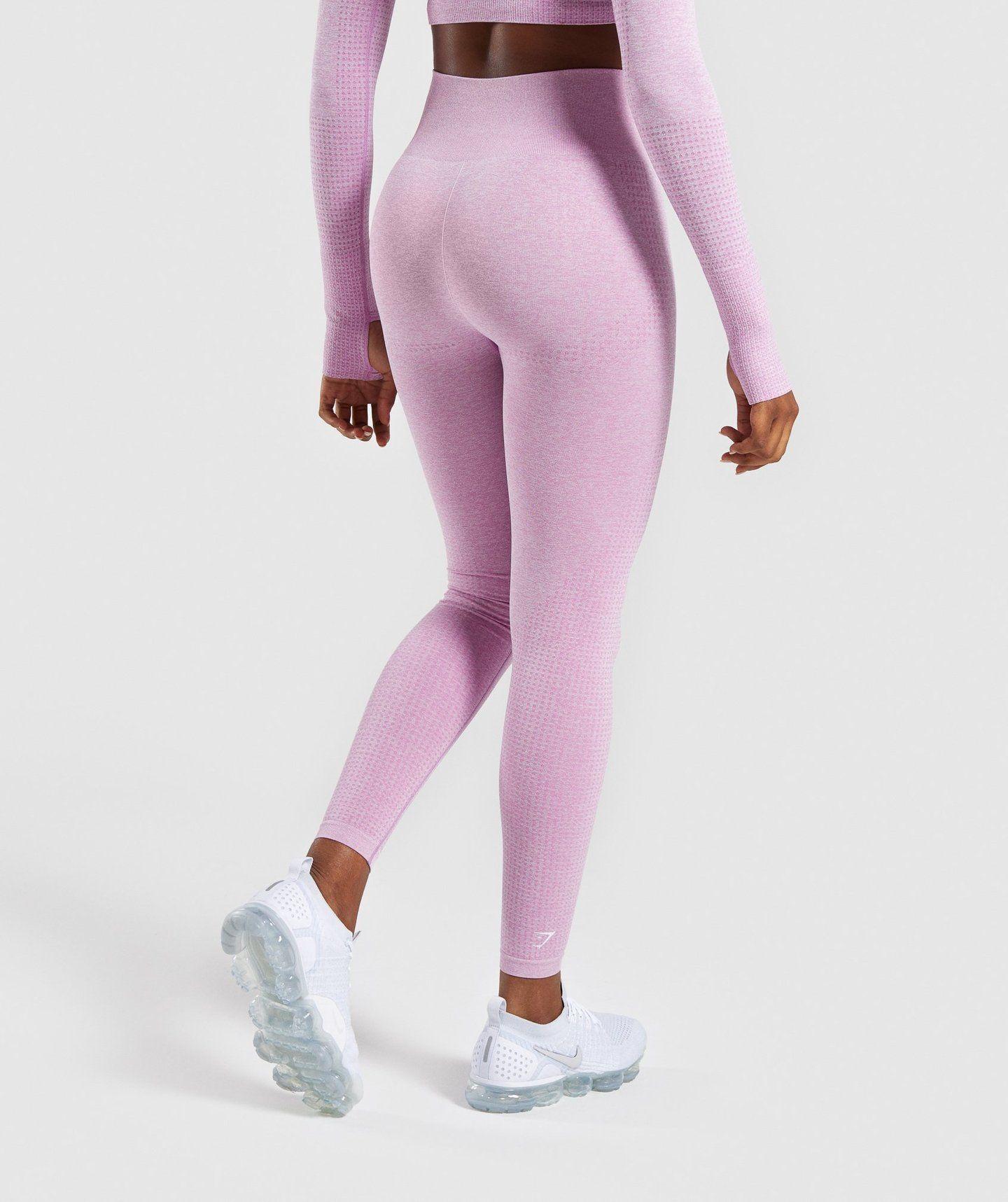 33dd11ea094 Gymshark Vital Seamless Leggings - Pink 1 Seamless Leggings, Pink Leggings,  High Socks,