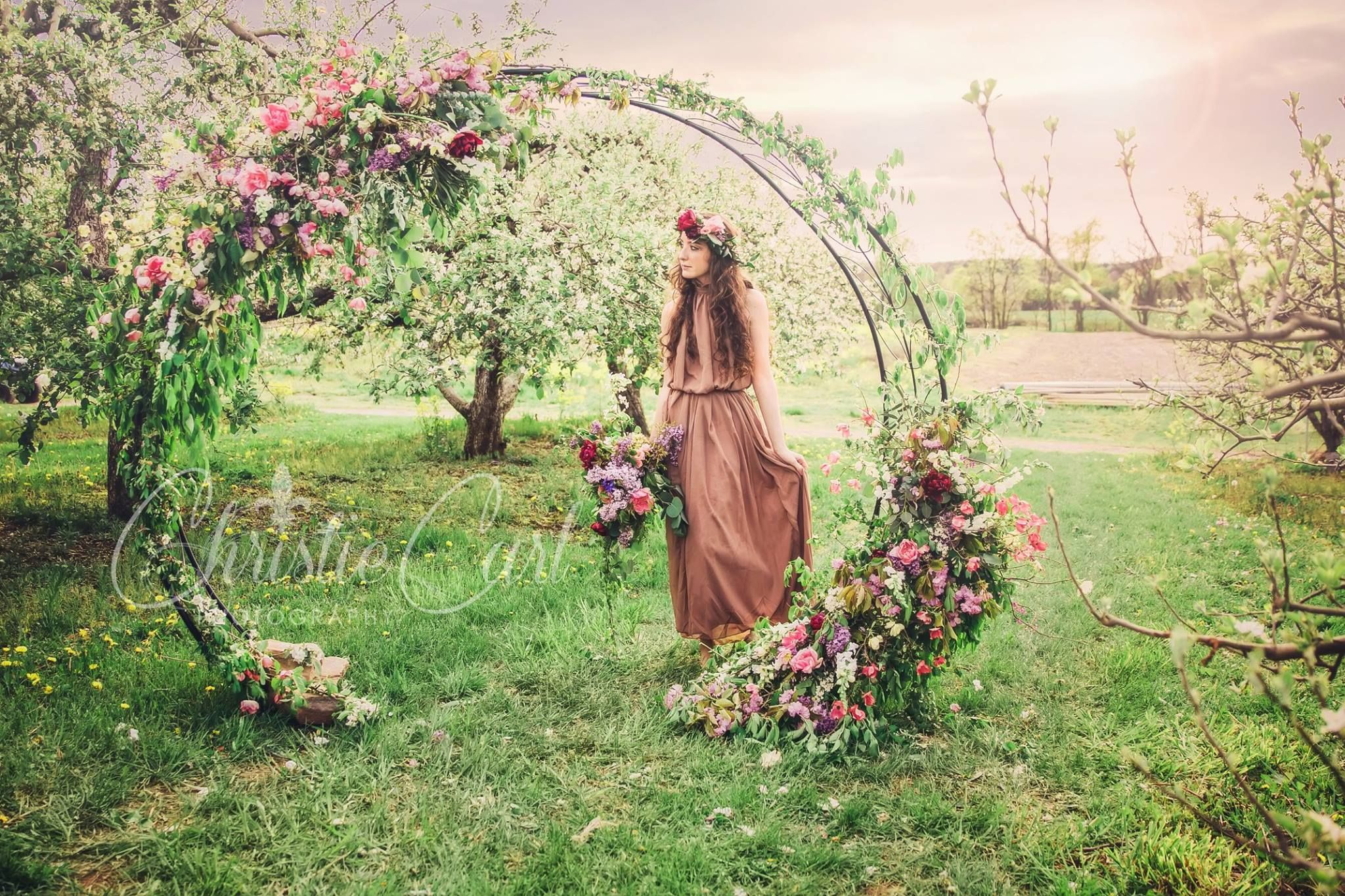 Moon Gate Arch For Wedding Rentals Floral Park Place Design Wedding Arch Rental Wedding Gate Wedding Flowers
