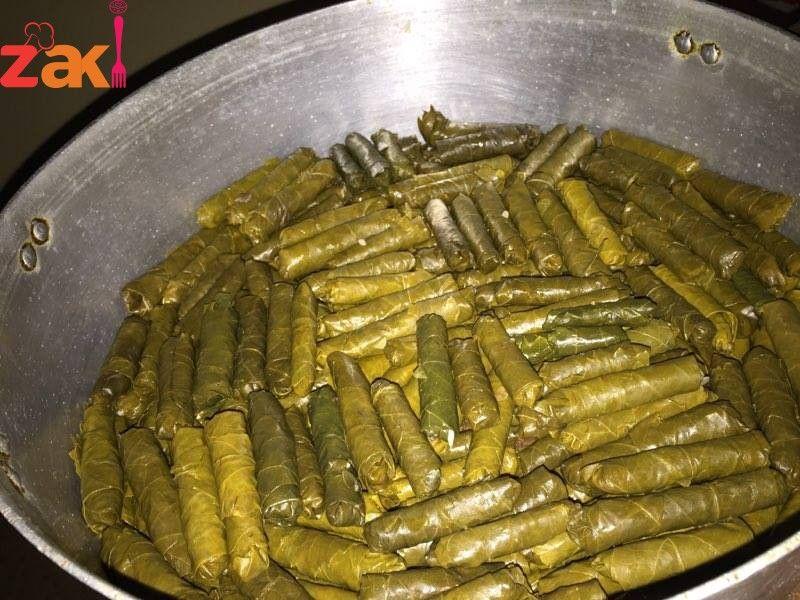 طريقة عمل أطيب محشي كوسا و ورق عنب اللي بحبه يشجعني زاكي Middle Eastern Recipes Lebanese Cuisine Food