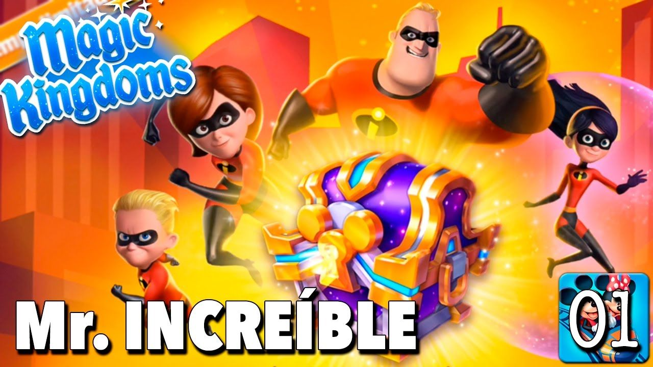 Bienvenida A Mr Increible Juego Disney Magic Kingdoms Gameplay