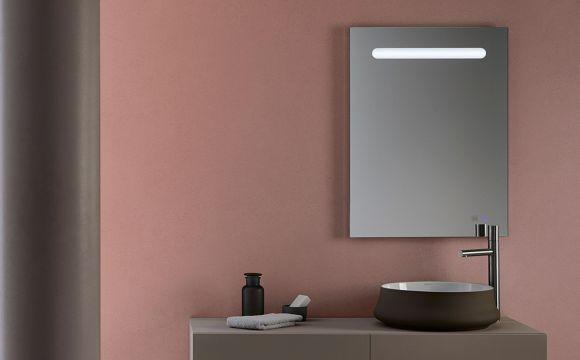 Espejos con luz led de Bathco para el cuarto de baño ...