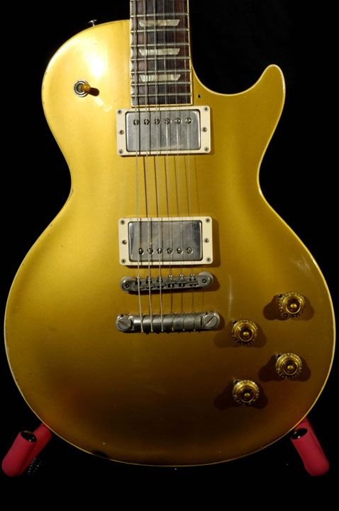 Photos of Duane Allman s 1957 goldtop Les Paul  9a3844a42