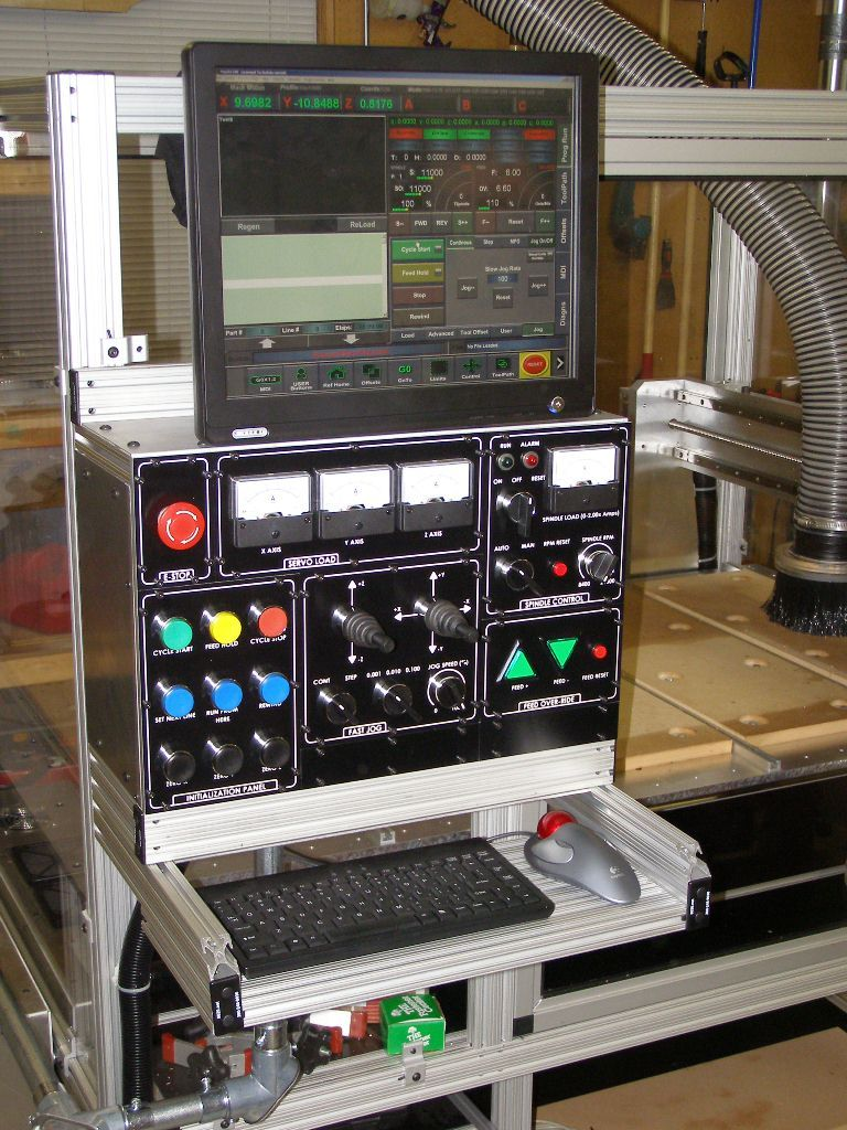 Router Cnc Control Panel Diy Cnc Cnc Machine Tools Cnc