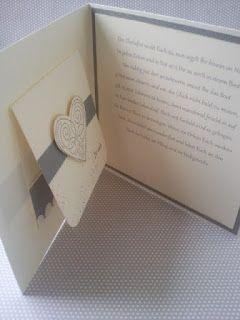 Meine kreative Welt...: Hochzeitskarte...